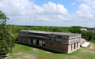 Uxmal mayan ruins Pyramide culture mexico Yucatan