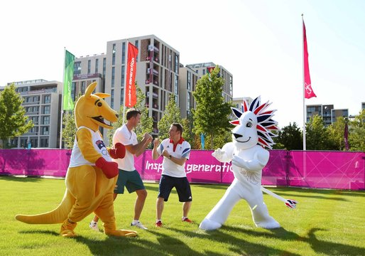 Team GB Olympic Village Welcome Ceremony