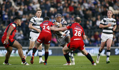 Hull FC v Salford Red Devils - First Utility Super League