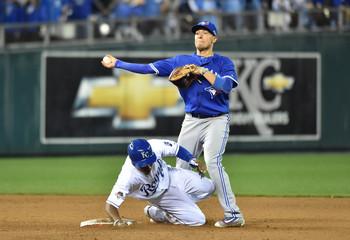 MLB: ALCS-Toronto Blue Jays at Kansas City Royals