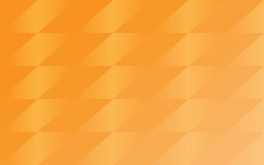 Vector Orange geometric shapes background