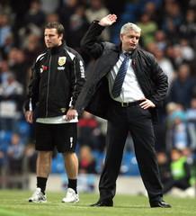 Manchester City v Burnley Barclays Premier League