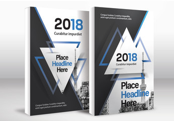 Book Cover Layout Set 75