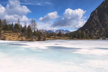 Aviolo lake in Adamello park, Brescia province, Lombardy district, Italy, Europe.