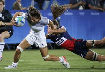 Rugby - Women's Placing 5-6 France v USA