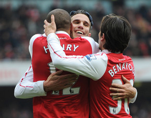 Arsenal v Blackburn Rovers Barclays Premier League