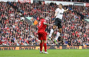 Liverpool v Manchester United - Barclays Premier League