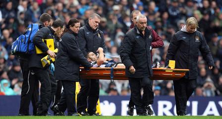 Manchester City v Newcastle United Barclays Premier League