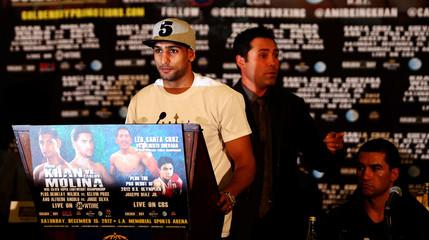 Amir Khan & Carlos MolinaHead-to-Head Press Conference