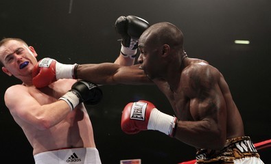 George Groves v Kenny Anderson Commonwealth Super-Middleweight Title