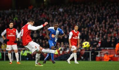 Arsenal v Wigan Athletic Barclays Premier League