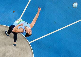 Athletics - Women's Discus Throw Qualifying Round - Groups