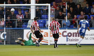 Hartlepool United v Sheffield United Carling Cup First Round