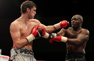 Chris Edwards v Shinny Bayaar British Flyweight Title