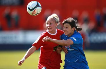 Birmingham City v Bristol Academy FA Women's Cup Semi Final