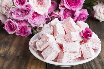 Delicious Turkish Delight of Roses