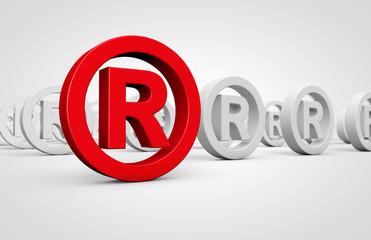 Business Registered Trademark Symbol