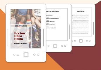 Diseño de libro de ficción para publicaciones electrónicas