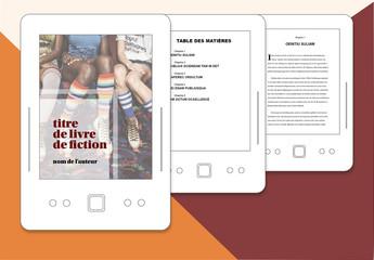 Modèle de publication électronique- Livre de fiction