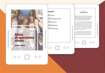 Layout libro di narrativa per ePub