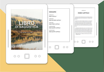 Layout libro di saggistica per ePub