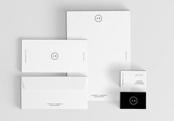 Modèles de papier à lettre minimalistes