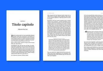 Layout libro classico per ePub