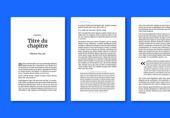 Modèle de publication électronique- Livre classique