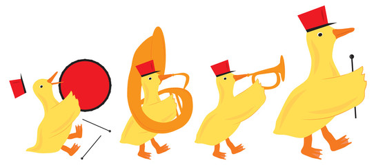 Duck Marching Band