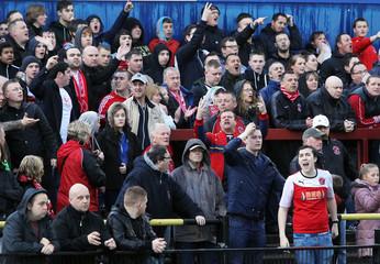 York City v Fleetwood Town - Sky Bet Football League Two Play-Off Semi Final First Leg