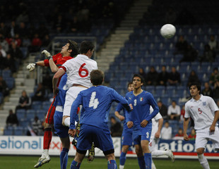 England U20 v Italy U20 Under 20 International Friendly