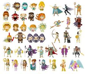 gods and mythological creatures from greek and roman mythology