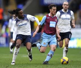 Bolton Wanderers v West Ham United Barclays Premier League