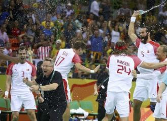 Handball - Men's Semifinal Poland v Denmark