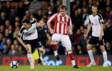 Fulham v Stoke City Barclays Premier League