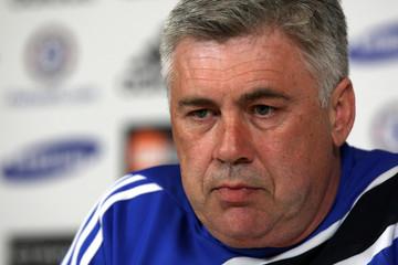 Chelsea FC Press Conference - Carlo Ancelotti