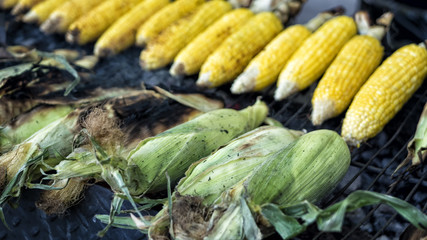Corn on the grilll