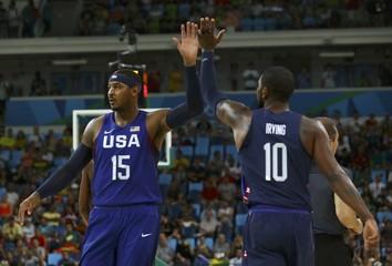 Basketball - Men's Semifinal Spain v USA