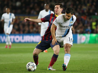 FC Barcelona v Manchester City - UEFA Champions League Second Round Second Leg