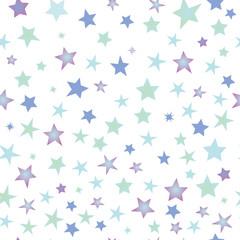 シームレスパターン 星 背景