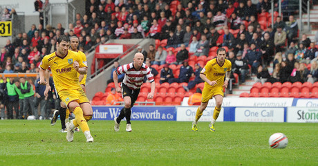 Doncaster Rovers v Burnley npower Football League Championship