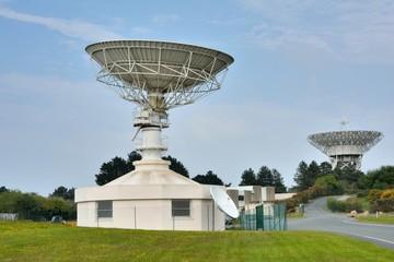 Les radars du site des télécoms de Pleumeur-Bodou