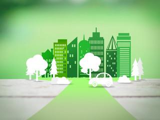 road to eco city