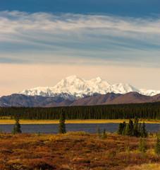 Wall Mural - Denali Range Mt McKinley Alaska North America