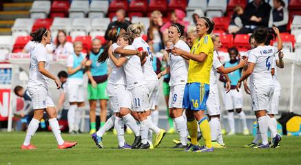 England v Sweden - Women's International Friendly