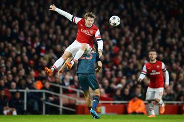 Arsenal v Bayern Munich - UEFA Champions League Second Round First Leg