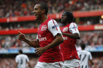 Arsenal v Udinese Calcio UEFA Champions League Play-Off First Leg