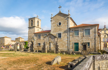 View at the Matriz Church in Barcelos ,Portugal