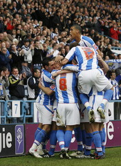 Huddersfield Town v Wycombe Wanderers Coca-Cola Football League One