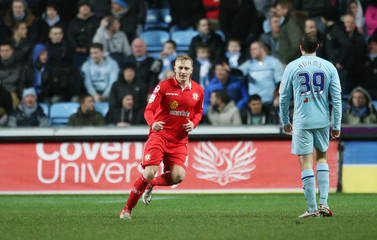 Coventry City v Crewe Alexandra - Johnstone's Paint Trophy Northern Area Final First Leg